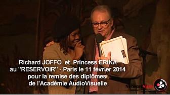 Princess Erika était avec Richard JOFFO au